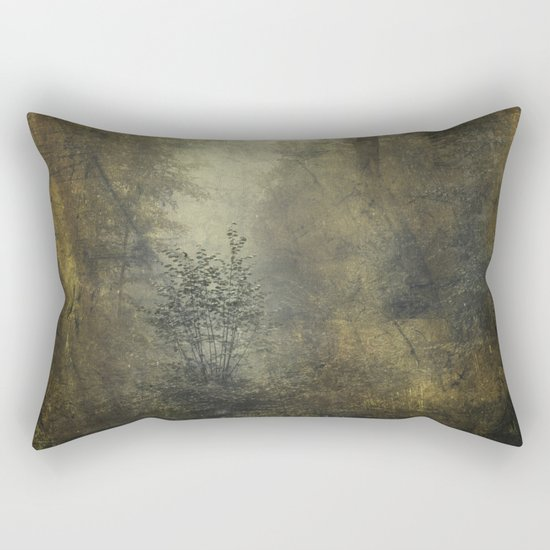 Let's Pretend we're Alone Rectangular Pillow