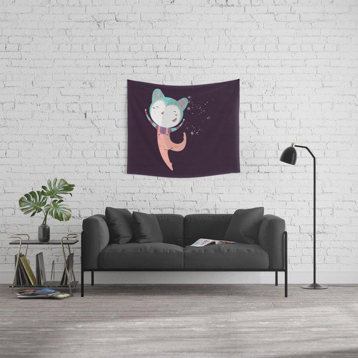 Dance Dreams (Purple) Wall Tapestry