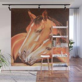 Love horses Wall Mural