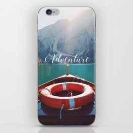 Live the Adventure - Typography iPhone Skin