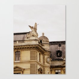 The Trumpeter of Paris  Canvas Print