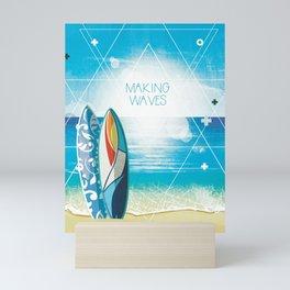 Making Waves Mini Art Print