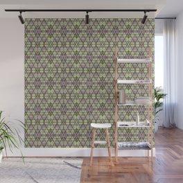 Geometric Grunge Pattern Wall Mural