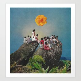 taller in another dimension Art Print