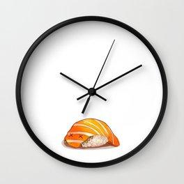 Sushi Monster Wall Clock