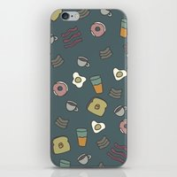 70s iPhone & iPod Skins featuring 70S Cafe by Calepotts
