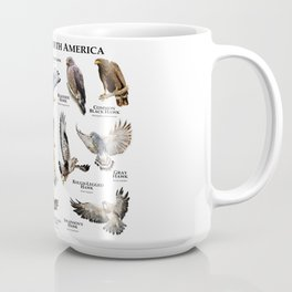 Hawks of North America Coffee Mug
