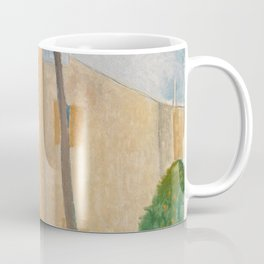 Amedeo Modigliani Cypresses and Houses at Cagnes Coffee Mug