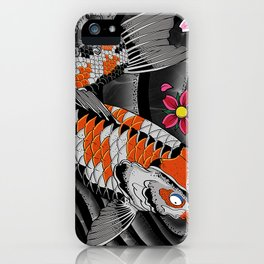 Twin Kois iPhone Case