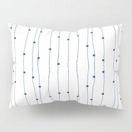 Dashing restless lines Pillow Sham