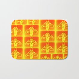 Honey Bees Bath Mat