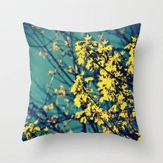 Neon Trees Throw Pillow