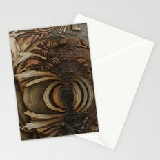 wood-chips Stationery Cards