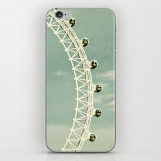 London-eye iPhone & iPod Skin