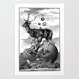 Cernunnos Art Print