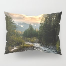 The Sandy River I - nature photography Pillow Sham