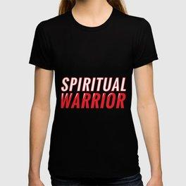 Spiritueller Krieger Spruch T-shirt