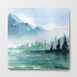 Mountain scenery 2 Metal Print