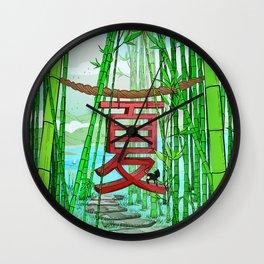 Natsu Wall Clock