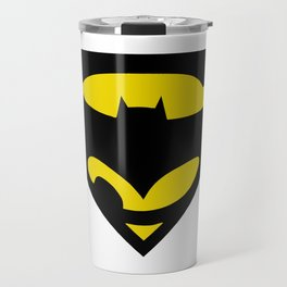 Superbat Symbol - Superhero Travel Mug
