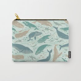 Whales Gathering II Carry-All Pouch