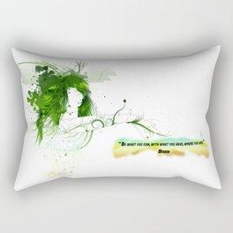 Women with design Rectangular Pillow
