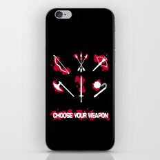 Choose your Weapon iPhone & iPod Skin