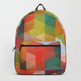 Transparent Cubism Backpack