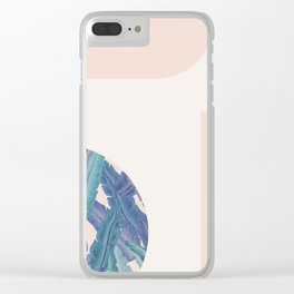 Mid-Century Candy Tropical pt.01 #society6 #tropical Clear iPhone Case