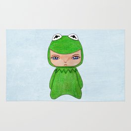 A Boy - Kermit the frog Rug