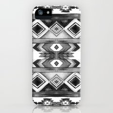 Southwest Pattern- Black & White Slim Case iPhone (5, 5s)