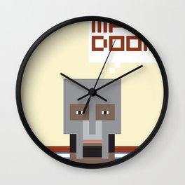Metal Face Wall Clock
