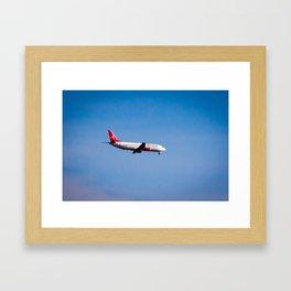 Albastar (Boeing 737) Framed Art Print