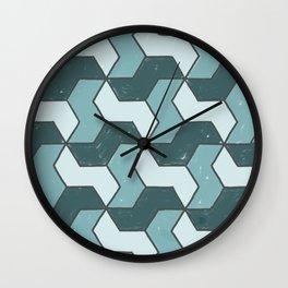 Distressed to Impress Wall Clock