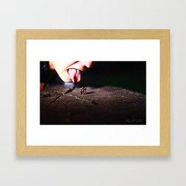 Infected Mushroom Framed Art Print