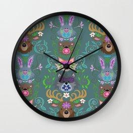 Woodsie Wall Clock