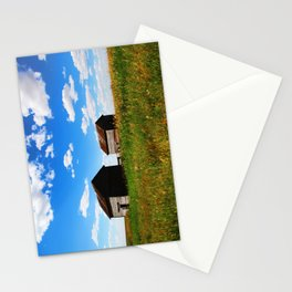 Barns on the Canadian Prairie Stationery Cards
