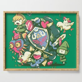 Let's Roll Link Serving Tray