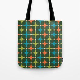 Mid Century Modern Star Pattern 934 Tote Bag