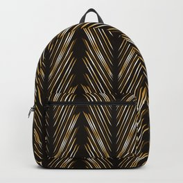 Wheat grass black Backpack