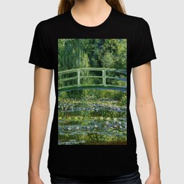 Water Lilies and the Japanese bridge - Claude Monet T-shirt