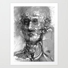 RandomFace Art Print
