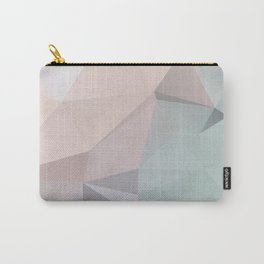 Pastell 2 – modern polygram illustration, wall art print Carry-All Pouch