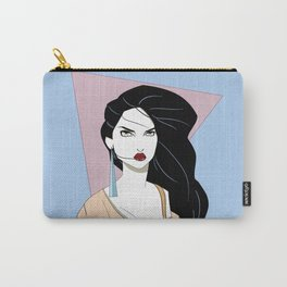 ▲ Pocahontas Patrick Nagel Style ▲ Carry-All Pouch