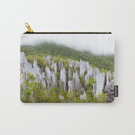 Limestone pinnacles formation at Gunung Mulu national park Borneo Malaysia Carry-All Pouch