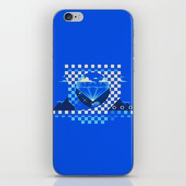 Chaos Emerald iPhone Skin