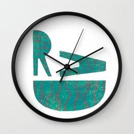 Rad - Green Wall Clock
