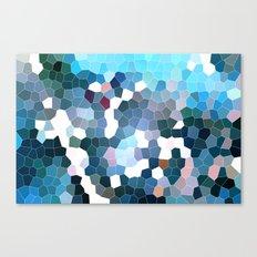 Pattern 7 - Flyin' Blues Canvas Print