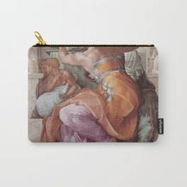 Michelangelo - Libyan Sibyl Carry-All Pouch