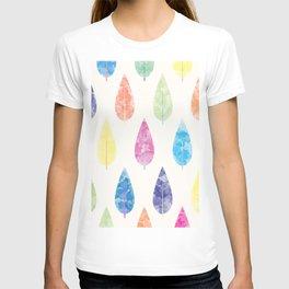 Watercolor Leaves T-shirt